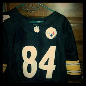 Pittsburgh Steelers BROWN number 84 authentic jerz